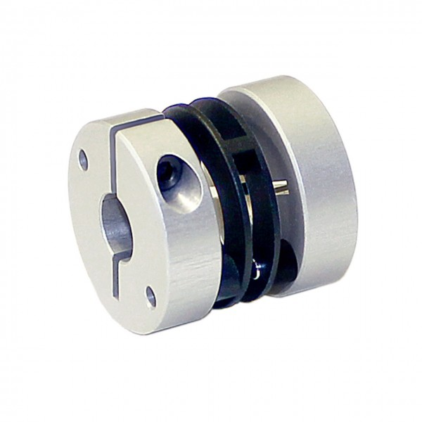Federscheibenkupplung FS2525-KK - 5mm/12mm