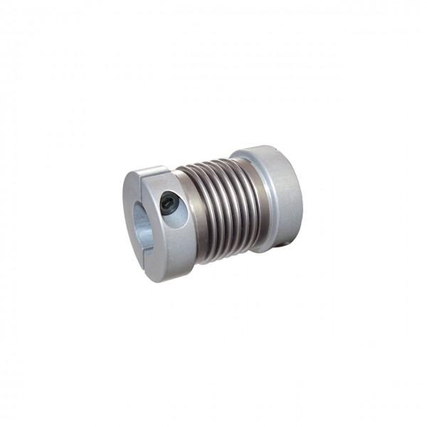 Balgkupplung BK1624-XKY - 6.3mm/6.3mm