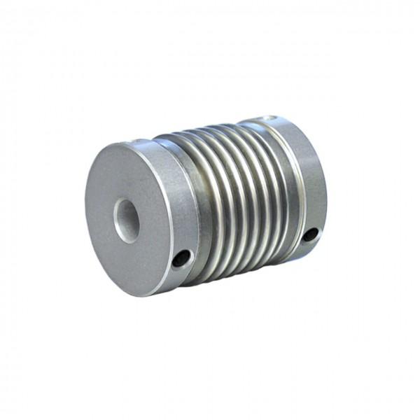 Balgkupplung BK1929-XS - 6.3mm/6.3mm