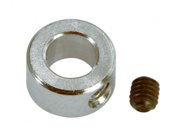 Stellring Standard 4,1 x 8 x 5 mm, Stahl vernickelt