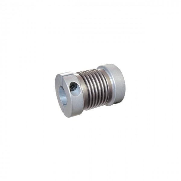Balgkupplung BK1622-XK - 6.3mm/6.3mm