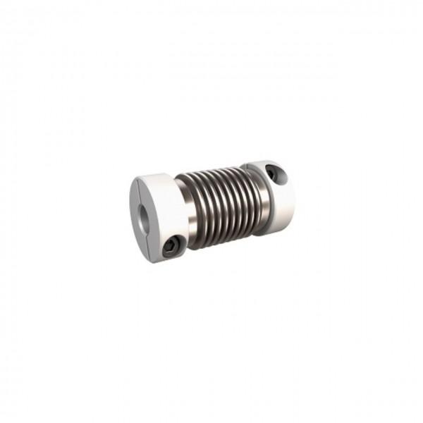 Balgkupplung BK1222-BK - 2mm/4mm