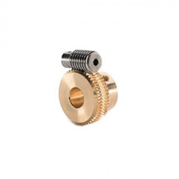Schneckenrad Modul 0.4, 50Z - 6mm
