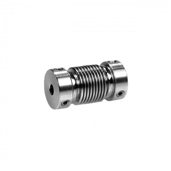 Balgkupplung BK1222-BS - 3mm/6mm