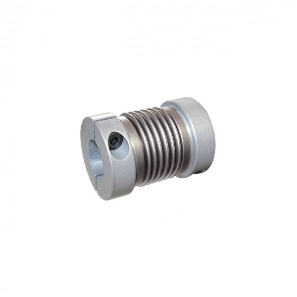Balgkupplung BK1627-XK - 6.3mm/6.3mm