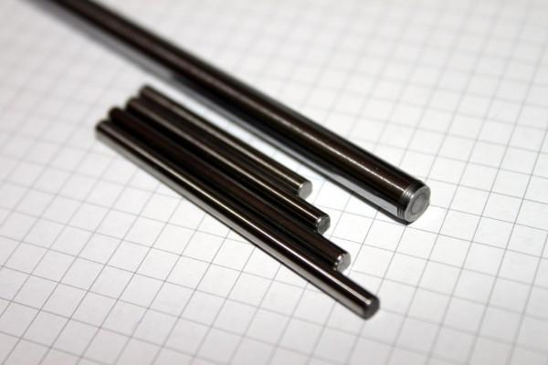 Präzisionswelle 1,5mm g5 x 14,5mm, gehärtet HRC56 (+-3)